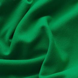 Ткань трикотаж креп зеленый (трава) (метр )