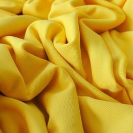 Ткань трикотаж кукуруза желтый (метр )