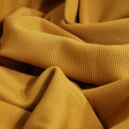 Ткань трикотаж кукуруза горчичный (метр )