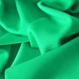 Ткань трикотаж кукуруза зеленая мята (метр )