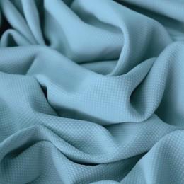 Ткань трикотаж кукуруза голубой (метр )