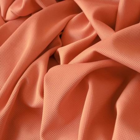 Ткань трикотаж кукуруза персиковый (метр )