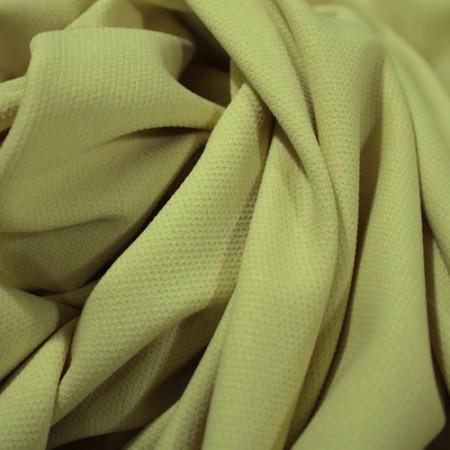 Ткань трикотаж кукуруза светло шамань (метр )