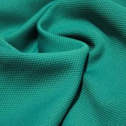 Ткань трикотаж кукуруза бирюза (метр )