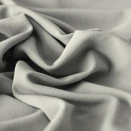 Ткань трикотаж масло светло серый (метр )