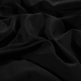Ткань трикотаж масло черный (метр )