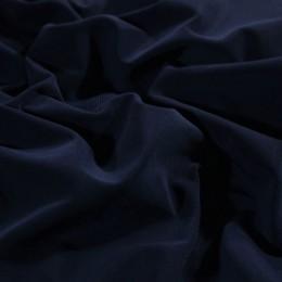 Ткань трикотаж масло темно синий (метр )