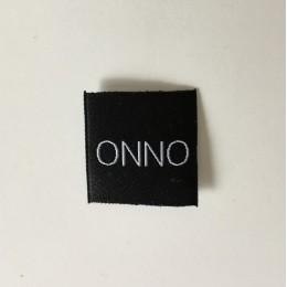 Этикетка жаккардовая вышитая ONNO 30мм заказная (1000 штук)