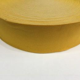 Резинка 50мм желтый (25 метров)