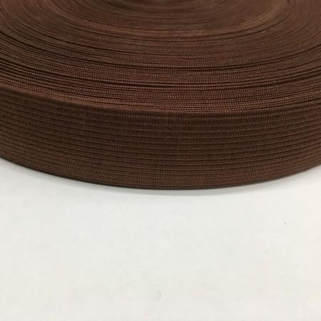 Резинка плоская 27мм коричневый (40 метров)