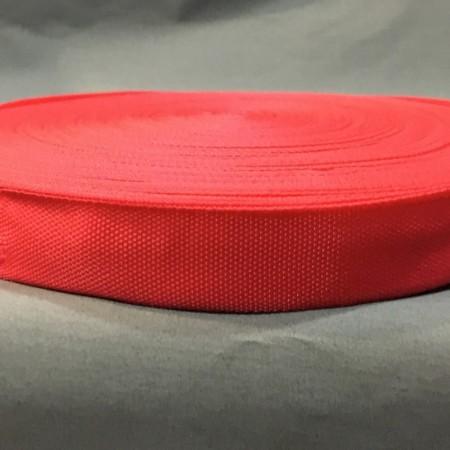 Тесьма-лента окантовка 23мм красный (50 метров)