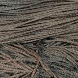 Шнур круглый 2мм коричневый (100 метров)