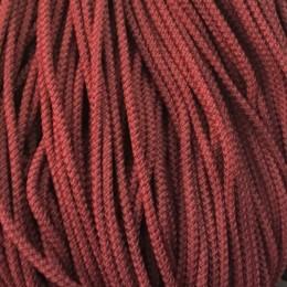 Шнур круглый 4мм бордовый (200 метров)