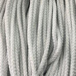 Шнур круглый 4мм люрекс серебро (200 метров)