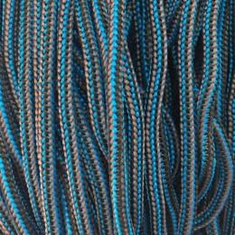 Шнур круглый 4мм наполнитель серо синий (200 метров)