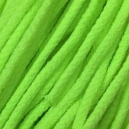 Шнур круглый 6мм акриловый салатовый (100 метров)