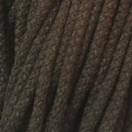 Шнур круглый 6мм акриловый коричневый (100 метров)