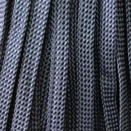 Шнур плоский чехол ПЭ8 мм синий (100 метров)
