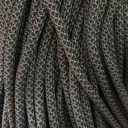 Шнур круглый 6мм 32 серо черный (100 метров)