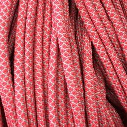 Шнур круглый 6мм 32 красно белый (100 метров)