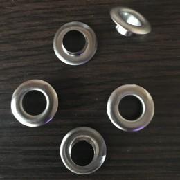 Люверс 13мм №28 Турция темный никель (1000 штук)