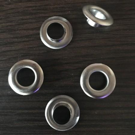 Люверс 10мм №24 Турция темный никель (1000 штук)