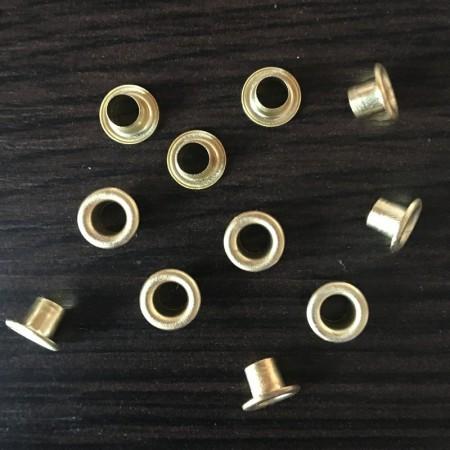 Люверс 3мм №17 Турция золото (5000 штук)
