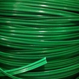 Кант пластиковый для сумок (кедер) 6мм зеленый яркий (100 метров)