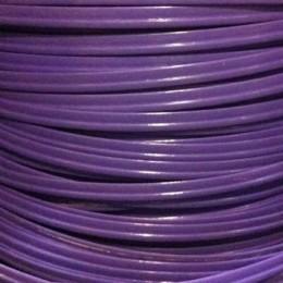 Кант пластиковый для сумок (кедер) 6мм фиолетовый (100 метров)
