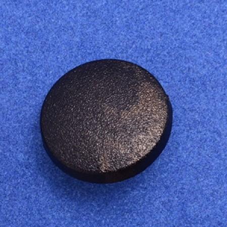 Кнопка пластиковая 20 мм китай черная (1000 штук)