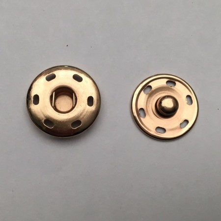 Кнопка металлическая пришивная в Украине