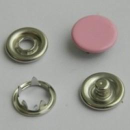 Кнопка трикотажная беби закрытая 9,5 мм турция розовый 134 (1440 штук)