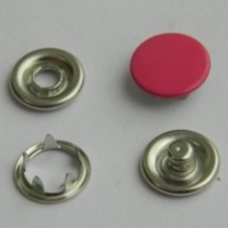 Кнопка трикотажная беби закрытая 9,5 мм турция малиновый 146 (1440 штук)