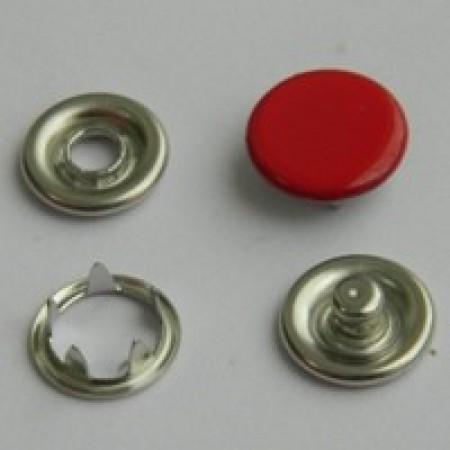 Кнопка трикотажная беби закрытая 9,5 мм турция красный 148 (1440 штук)