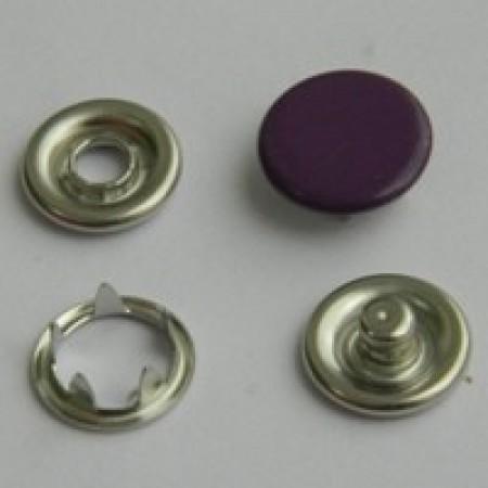 Кнопка трикотажная беби закрытая 9,5 мм турция фиолетовый 175 (1440 штук)