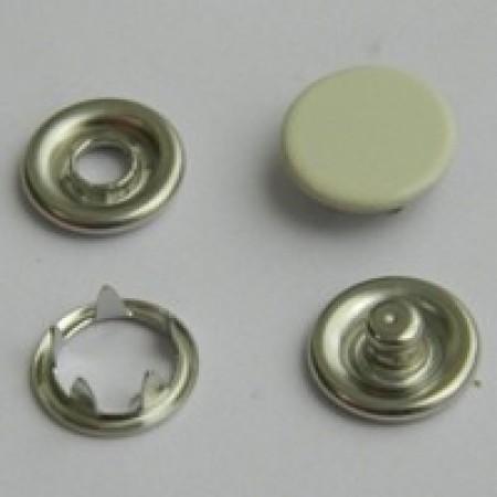 Кнопка трикотажная беби закрытая 9,5 мм турция молоко 306 (1440 штук)