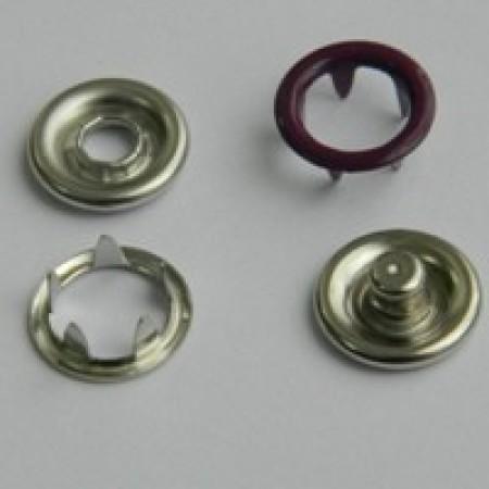 Кнопка трикотажная беби кольцо 9,5 мм турция фиолетовый 175 (1440 штук)