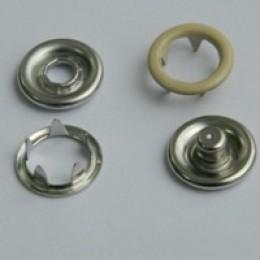 Кнопка трикотажная беби кольцо 9,5 мм турция бежевый 345 (1440 штук)