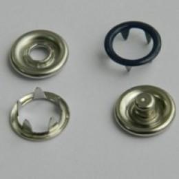 Кнопка трикотажная беби кольцо 9,5 мм турция синий 569 (1440 штук)