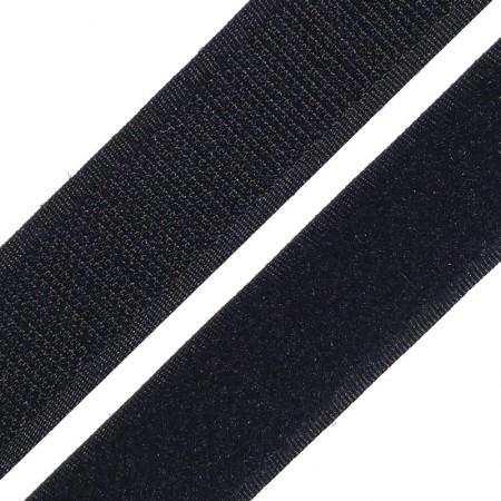 Липучка 40мм черная (25 метров)