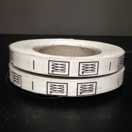 Размерная лента (накатка) XXXL (1000 штук)