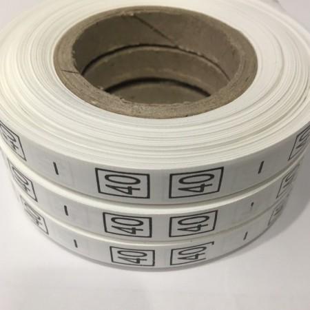 Размерная лента (накатка) 40 (1000 штук)