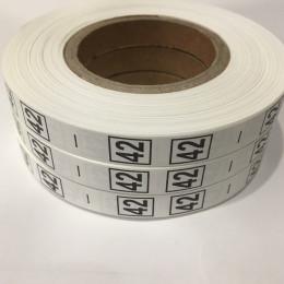 Размерная лента (накатка) 42 (1000 штук)