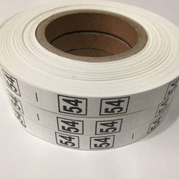 Размерная лента (накатка) 54 (1000 штук)