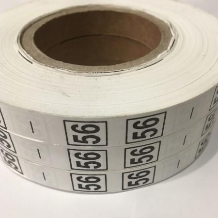 Размерная лента (накатка) 56 (1000 штук)