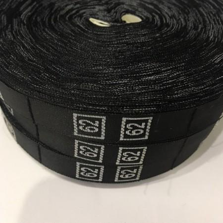 Размерная лента (тканная) 62 (1000 штук)