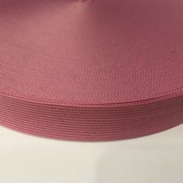 Тесьма окантовочная 23мм розовый  (100 метров)