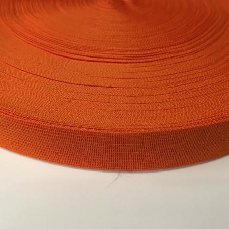 Тесьма окантовочная 23мм оранжевый (100 метров)