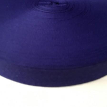 Тесьма окантовочная 23мм фиолетовый (100 метров)