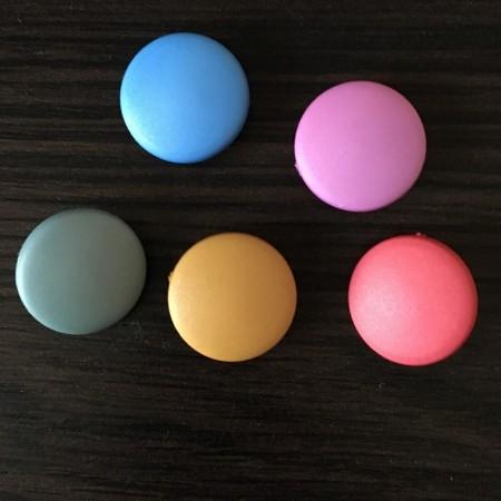 Кнопка под покраску 20 мм цветная (1000 штук)